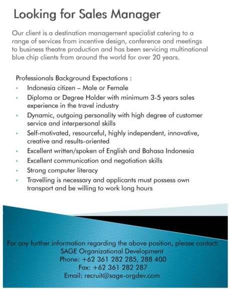 Lowongan Pekerjaan Exciting Hotel And Spa Jobs In